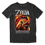 Nintendo - Camiseta vintage para hombre, diseño de Mario, Luigi, Zelda, Kirby y...