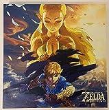 WTD - lona decorativo (30,5 x 30,5 cm), diseño de la leyenda de Zelda Breath of...