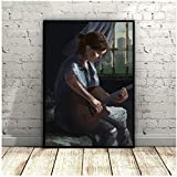 yhyxll The Last of Us Part 2 Art Poster Canvas Painting Wall Pictures For Living...