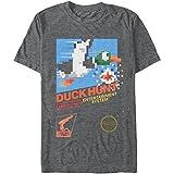 Nintendo Camiseta para Hombre Duck Hunt, Carbón Heather, Medium
