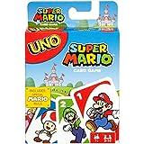 UNO Cartas Super Mario Bros Juego de Cartas para Jugar con Familia y Amigos para...