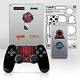 Controller Gear Officially Licensed God of War Dualshock 4 Wireless Controller...