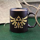 The Legend of Zelda Hyrule Taza de café de cerámica–Collectors Edition