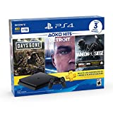 PlayStation 4 Hits 1TB con 3 juegos: Days Gone, Detroit: Become Human, Tom...