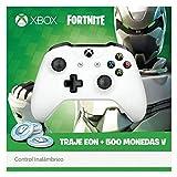 Control Inalámbrico Xbox One - Standard Edition - Blanco + Bonus Fortnite...