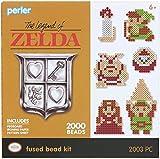 Perler Beads Link Legend of Zelda - Kit de cuentas fusionadas, 2002 piezas