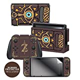 Controller Gear Nintendo Switch Skin & Screen Protector Set Officially Licensed...