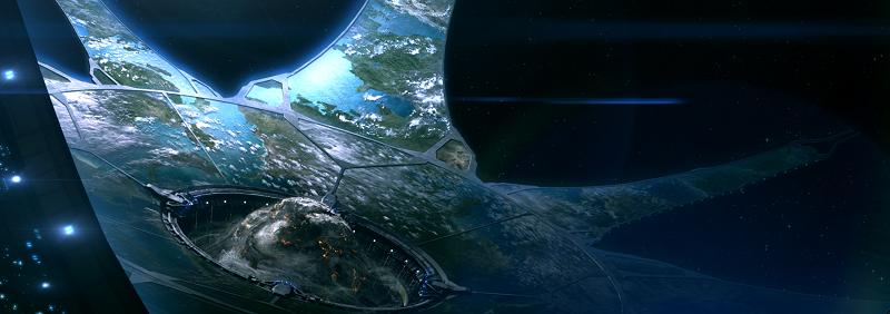 Halo: El Arca, lugar donde se construyen los Halos