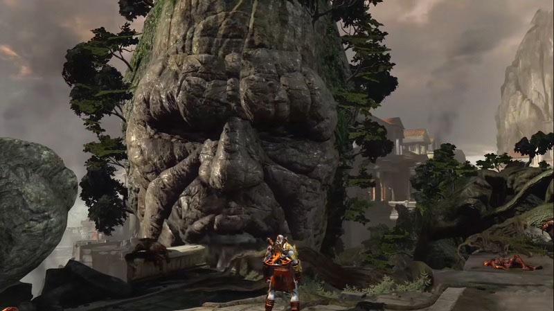 Reencuentro de Kratos con Gaia
